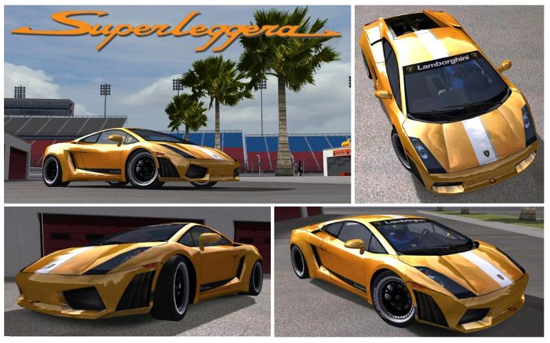 rFactor Lamborghini Superleggera Balboni