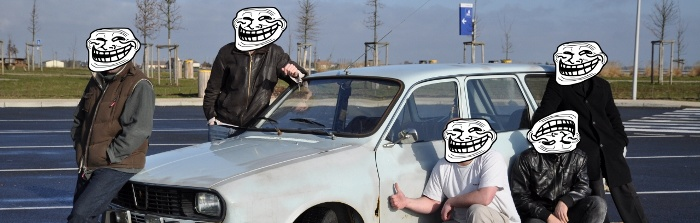 Renault 12 Troll Faces